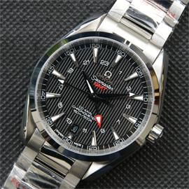スーパーコピー[オメガ] OMEGA 腕時計 シーマスター アクアテラ GMT