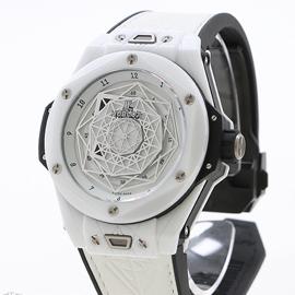 ウブロ ビッグバン ウニコ サンブルー セラミックホワイト 415.HX.2027.VR.MXM19 (Noob工場)